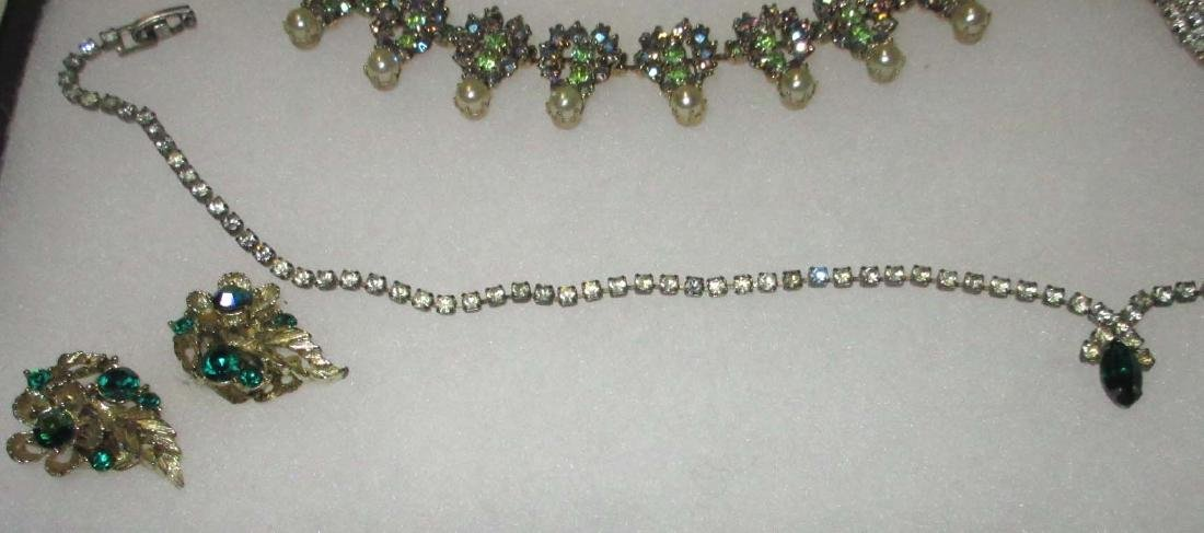 6 piece Delicate Petite Rhinestone Jewelry - 5