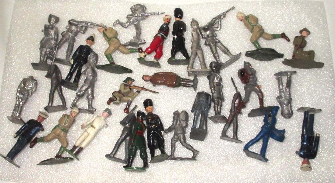 Lot of 30 Misc. Lead Soldiers