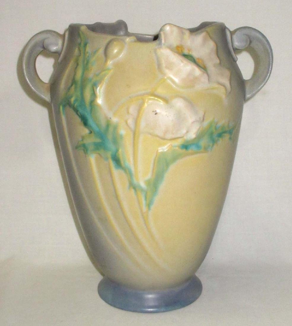 Roseville Pottery Vase Poppy