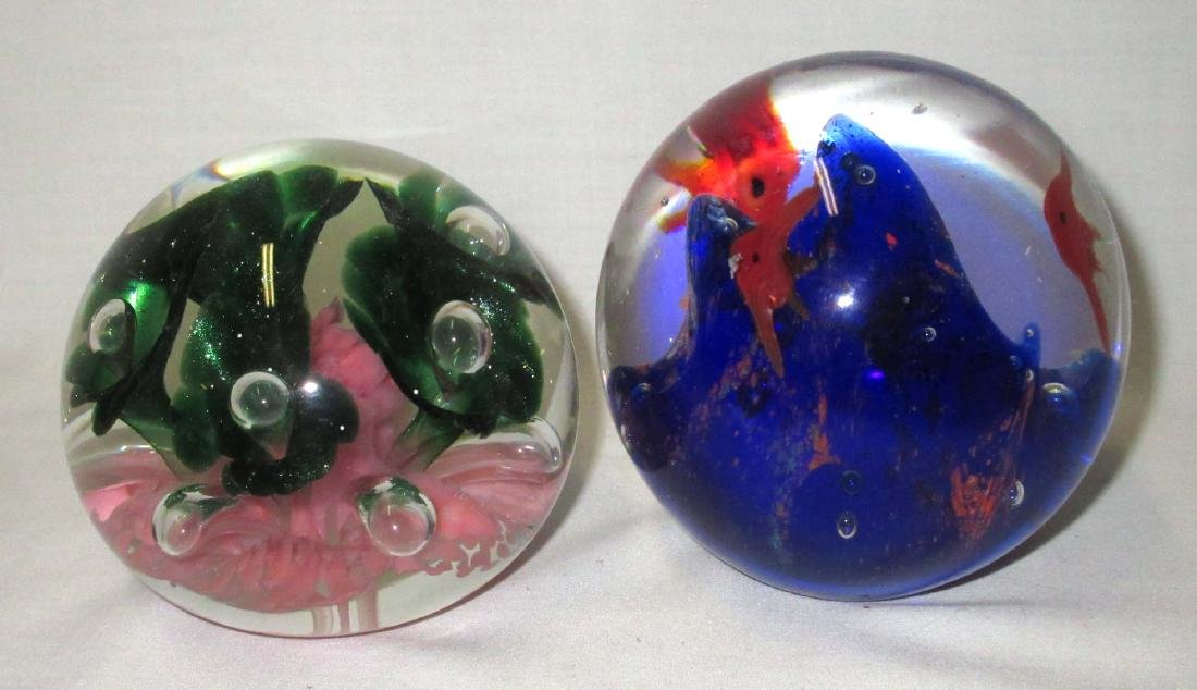 2 Paperweights - 2