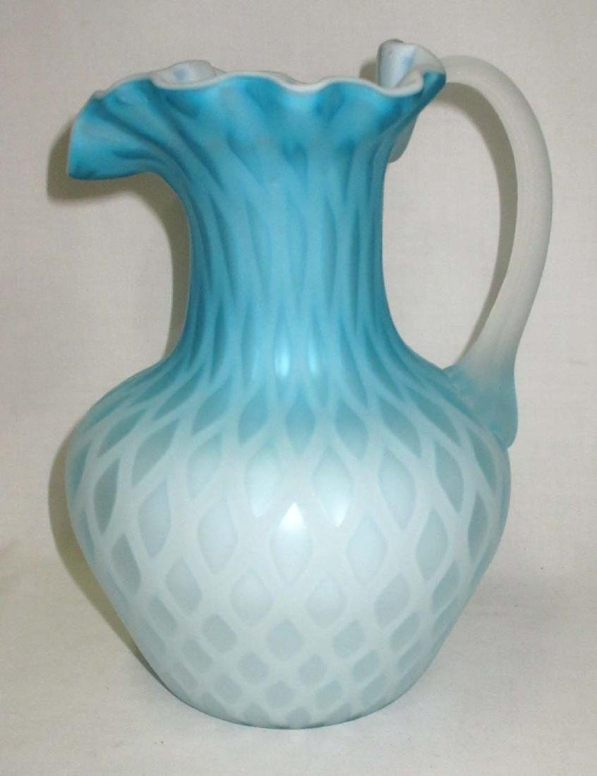 Diamond Quilted MOP Pitcher