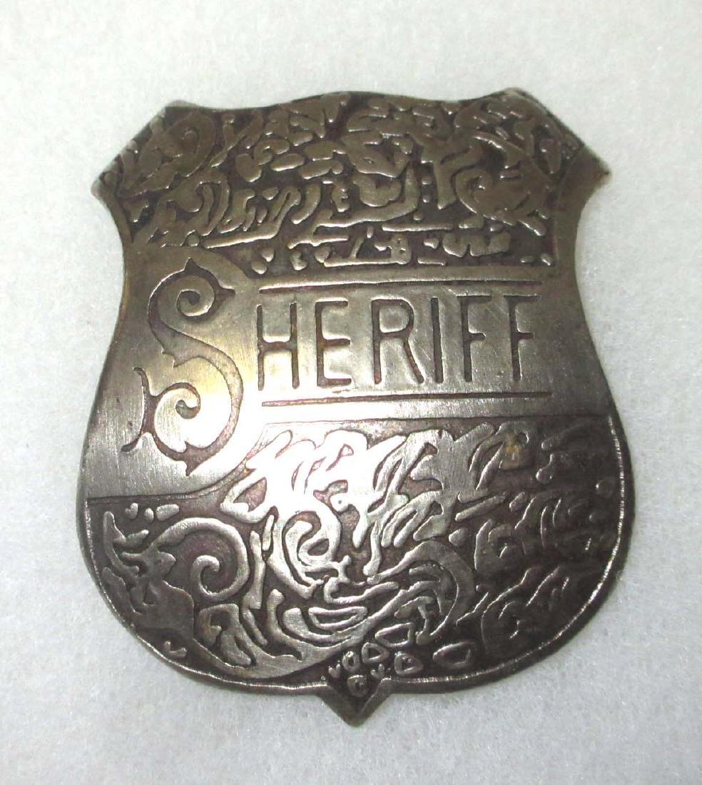 Modern Sheriff Badge