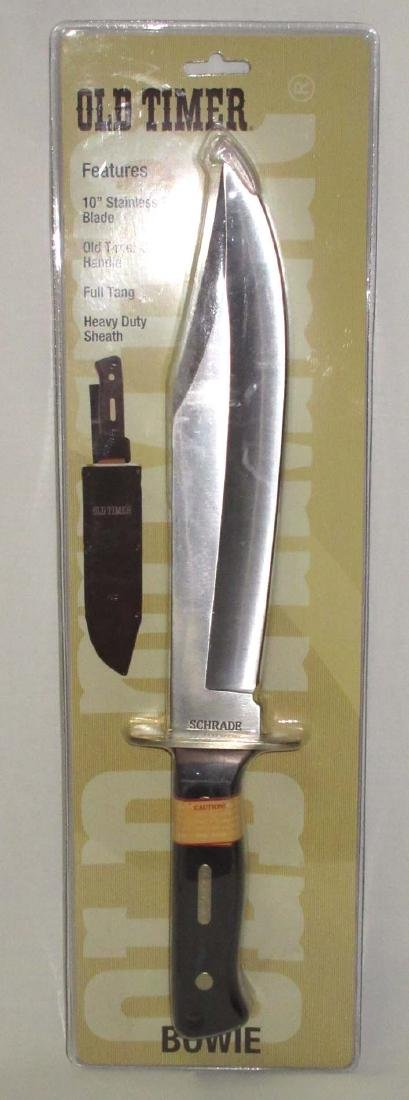 "15 1/2"" Schrade Old Timer Bowie Knife"