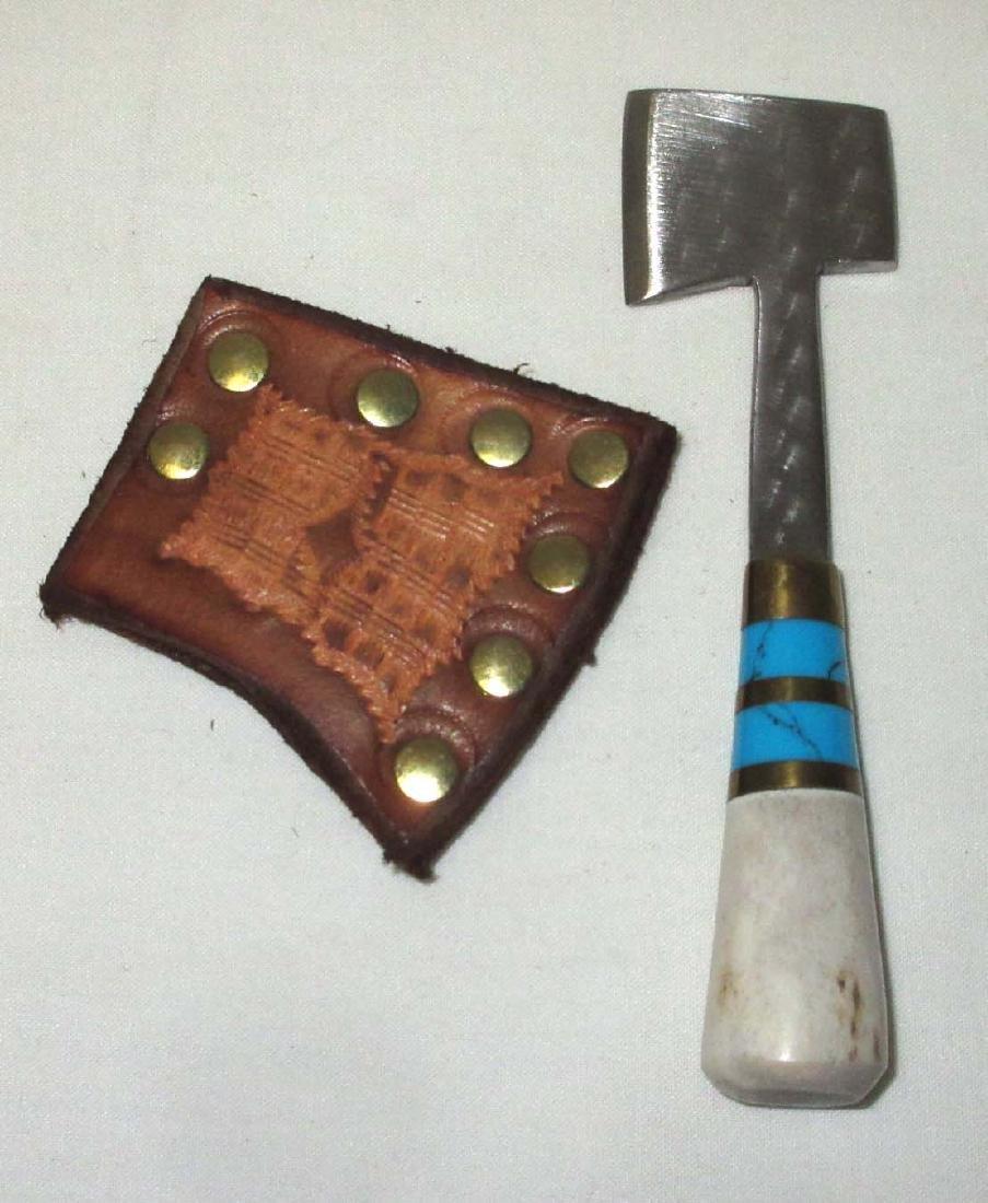 """4 1/2"""" Ken Richardson Hand Made Miniature Hatchet"""