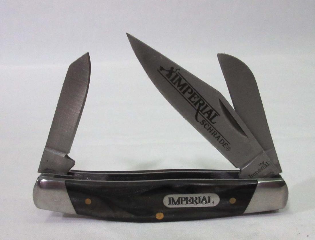 """3 1/4"""" Schrade Imperial Pocket Knife"""