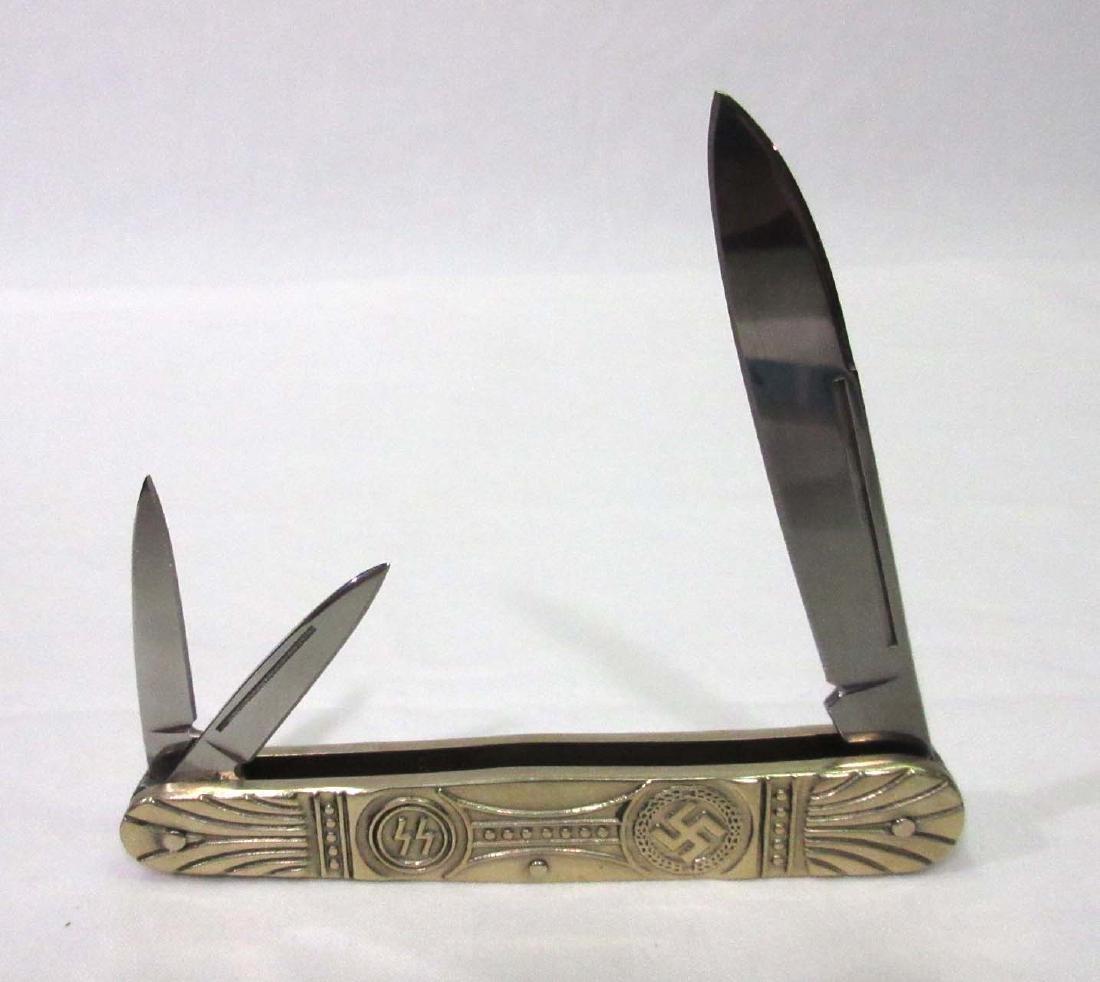 """3 3/4"""" Modern Nazi Pocket Knife"""