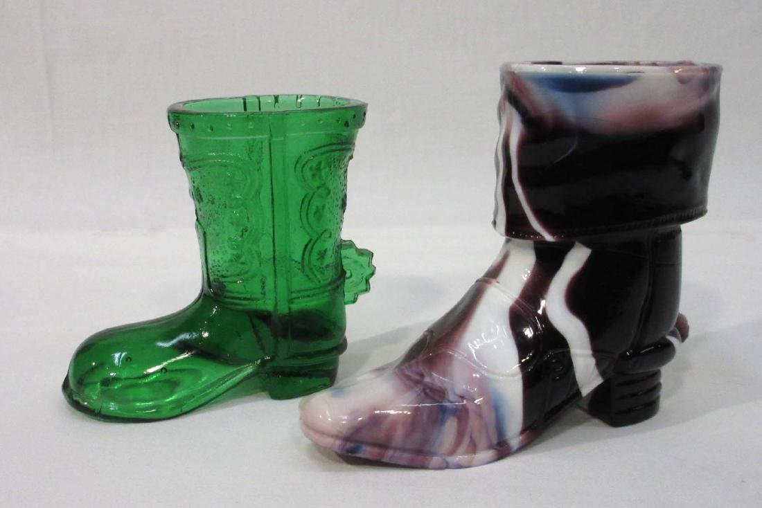 2 Cowboy Boot Toothpick Holders