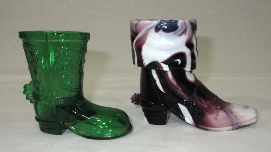 2 Cowboy Boot Toothpick Holders - 2