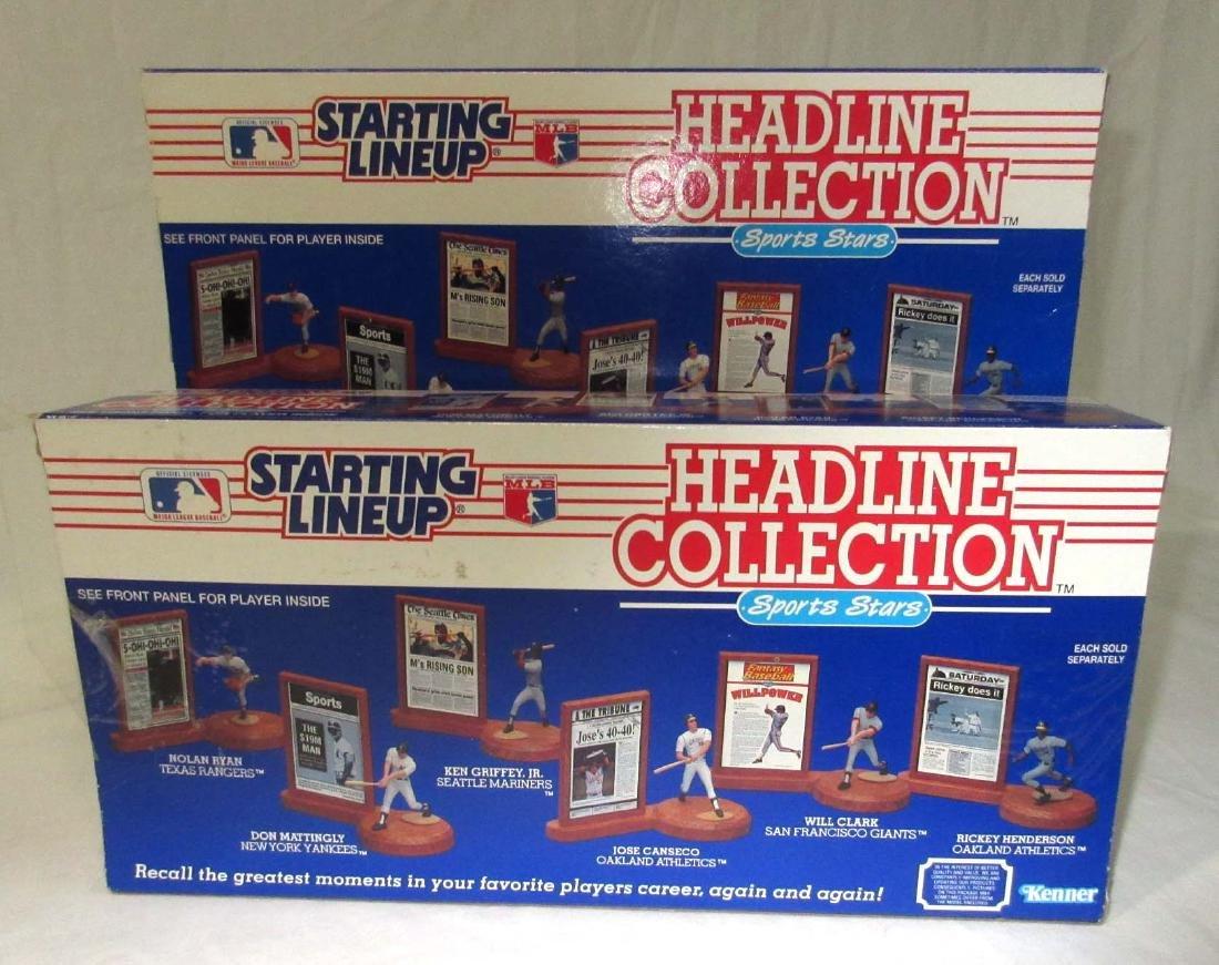 4 Starting Lineup Baseball Figures - 2
