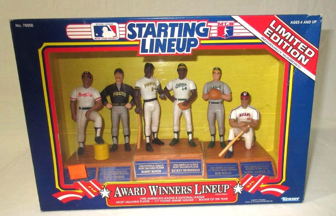 4 Starting Lineup Baseball Figures - 4