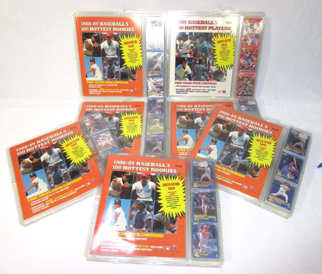 7 NIB Baseball Cards & Guides