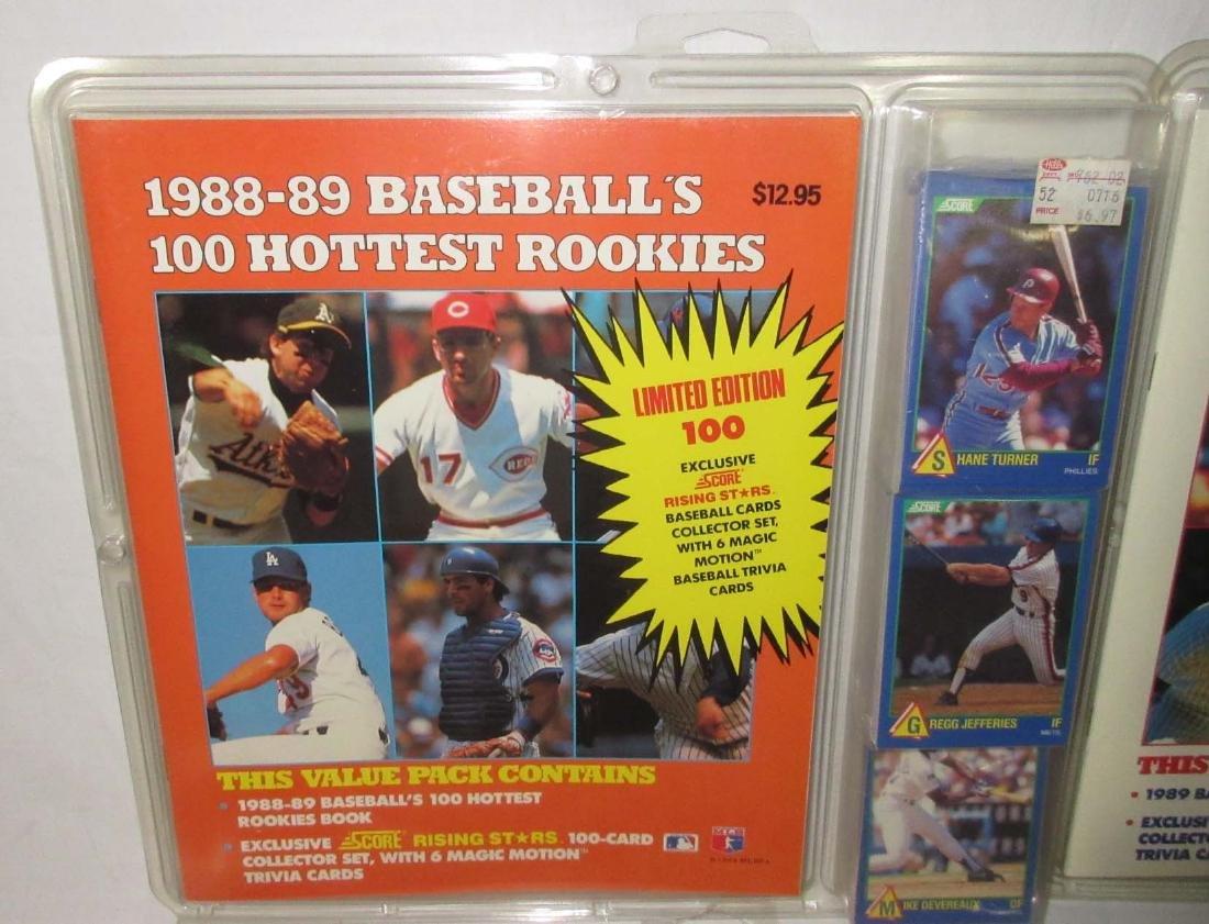 7 NIB Baseball Cards & Guides - 2