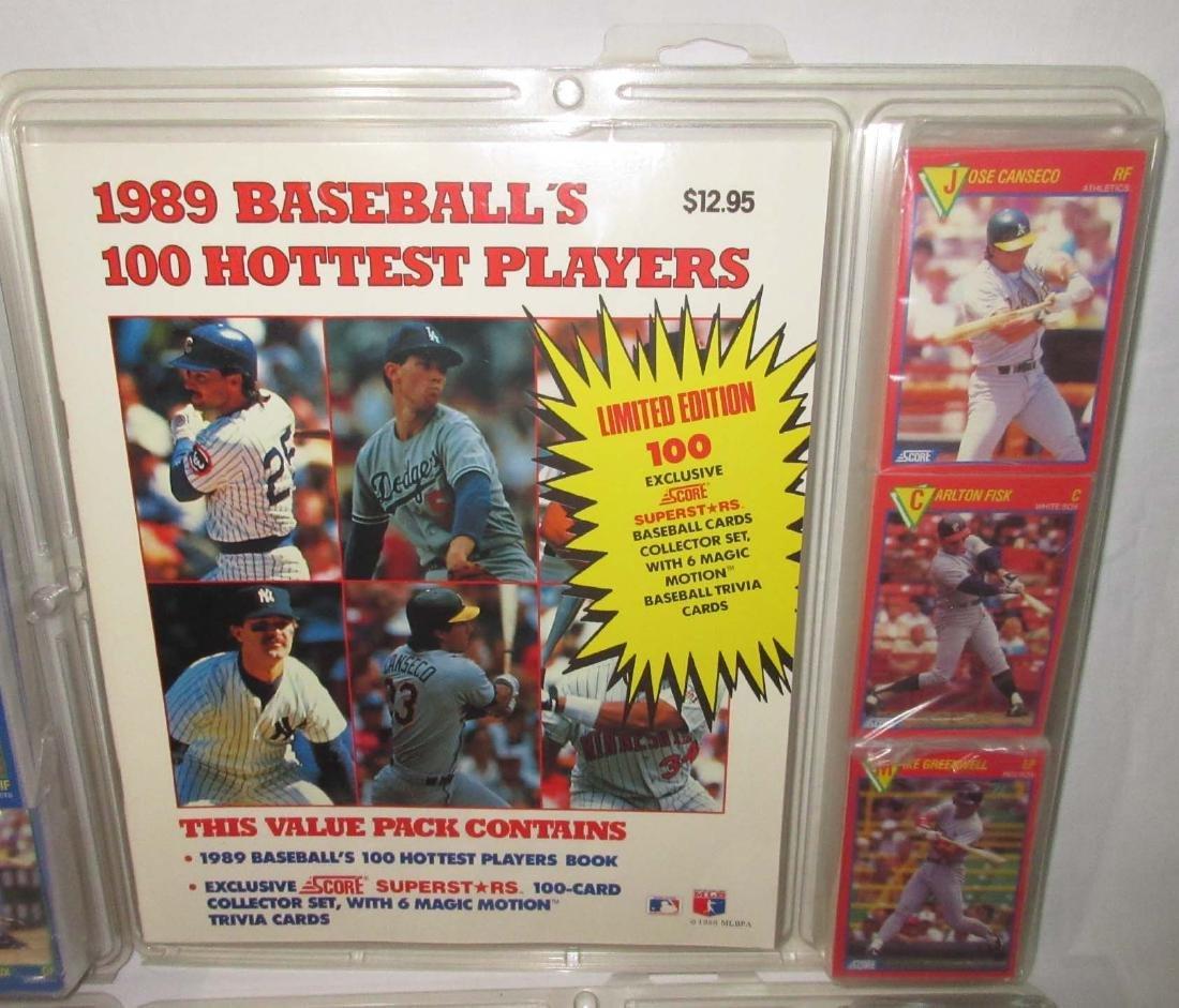 7 NIB Baseball Cards & Guides - 3