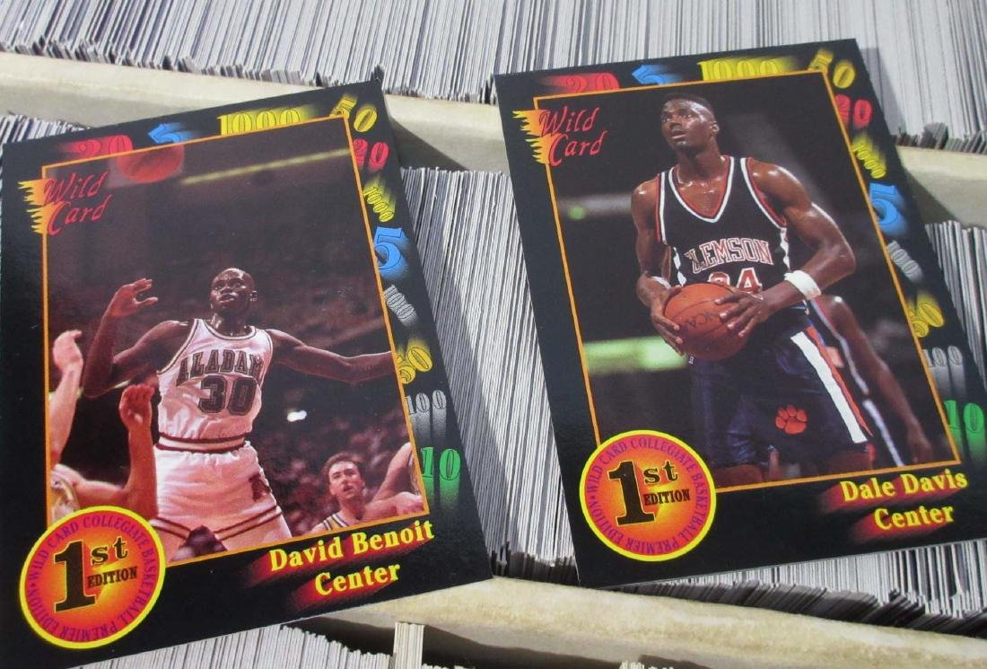3 Boxes '90 - '91 Sky Box, Hoops & Other Baseball Cards - 3