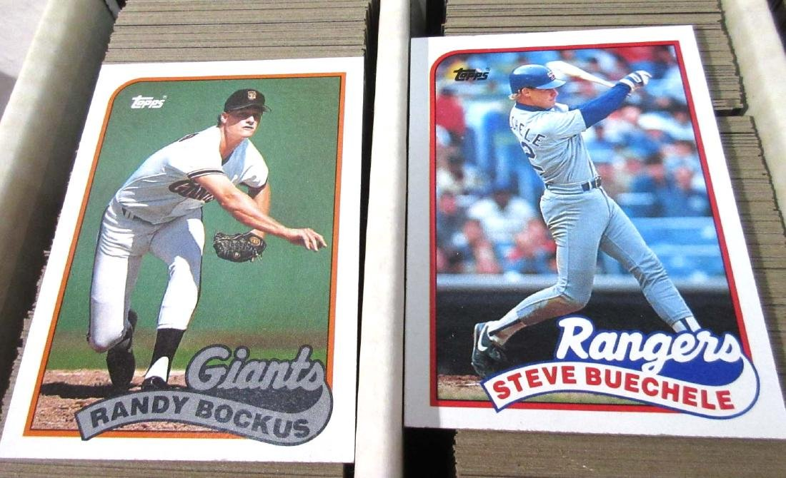 2 Boxes '89-'90's Baseball, Football, & Other Cards - 5