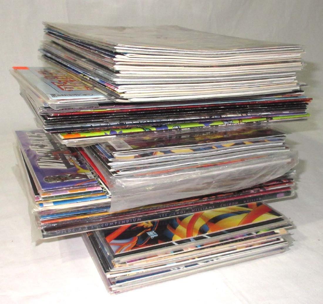 100 New Unread Comic Books
