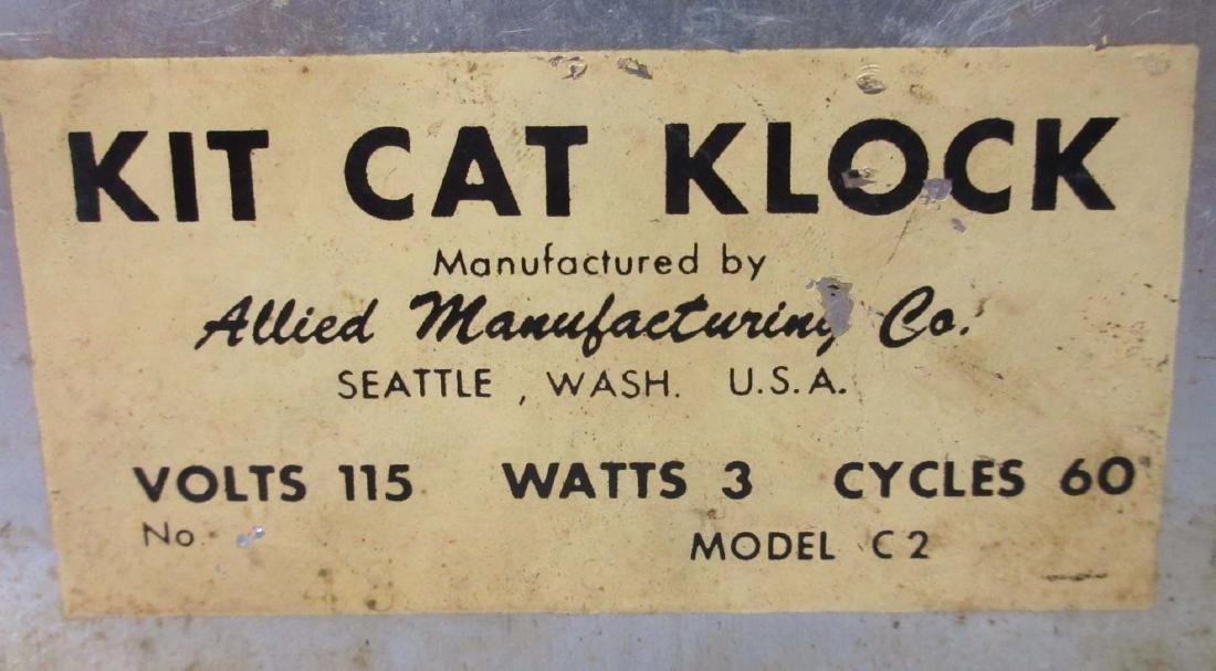Allied Kit Kat Klock - 3