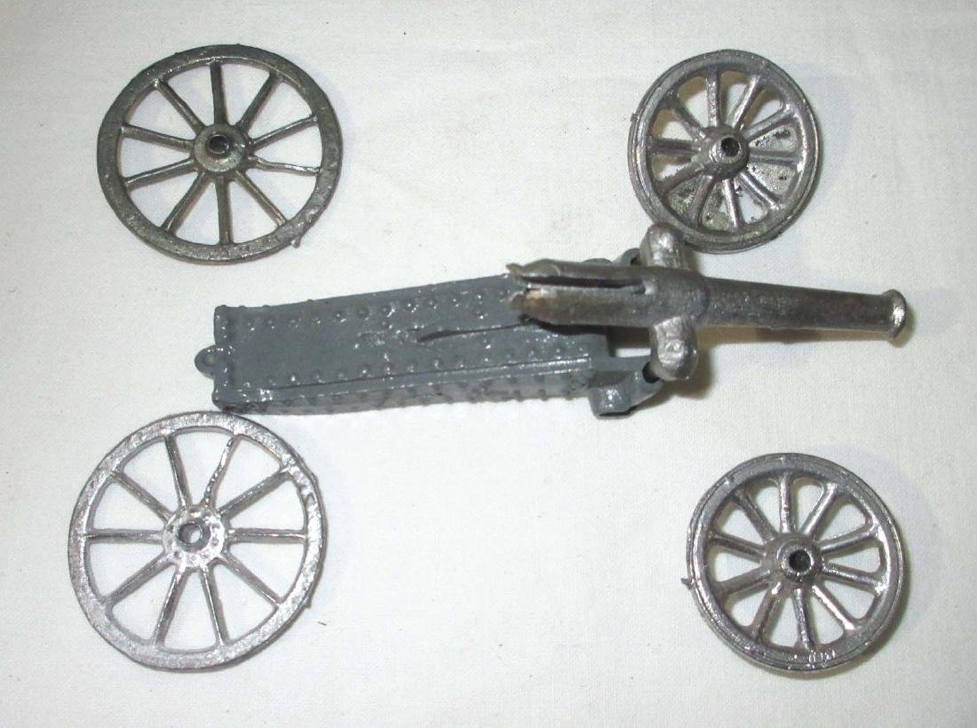 Lot of Lead Cannons, Never Assembled - 3