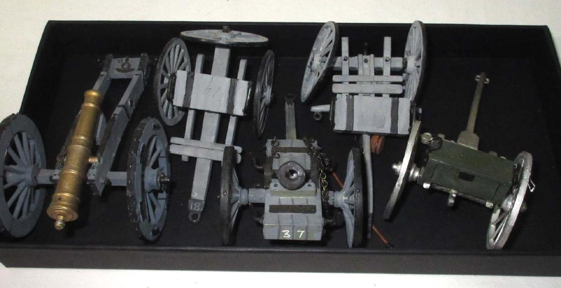 Lot Lead Ammo Wagons & Cannons - 2