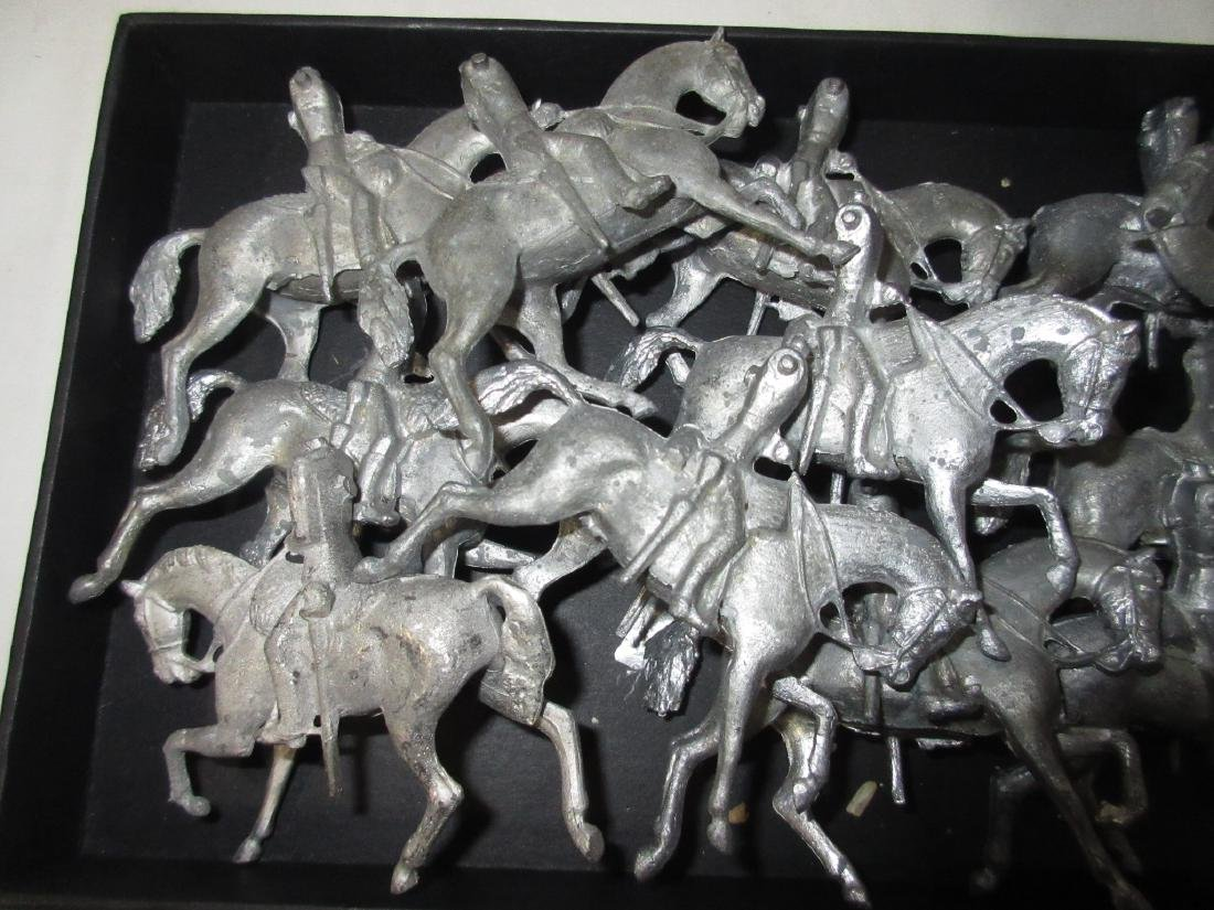 Set of Lead Horses for Parts - 2