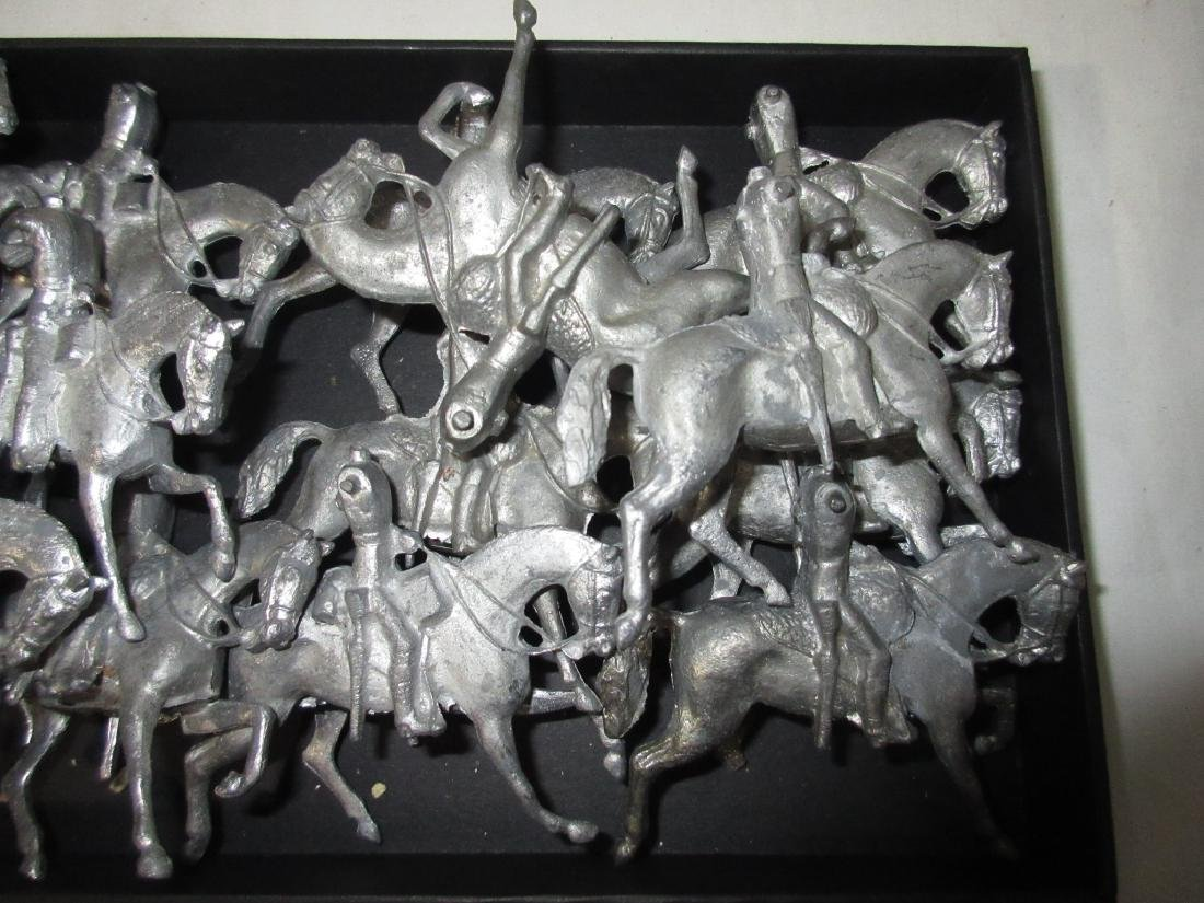 Set of Lead Horses for Parts - 3