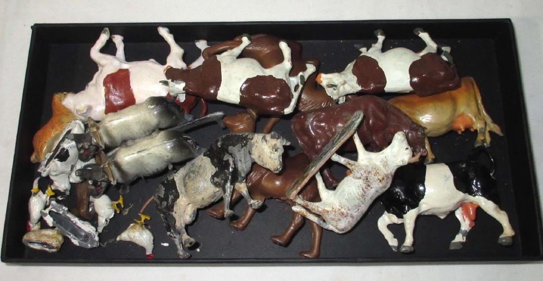 Set of Lead Farm Animals