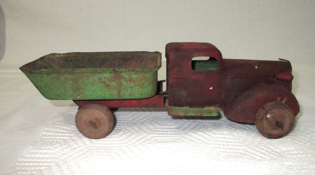 Steel Toy Dump Truck - 2