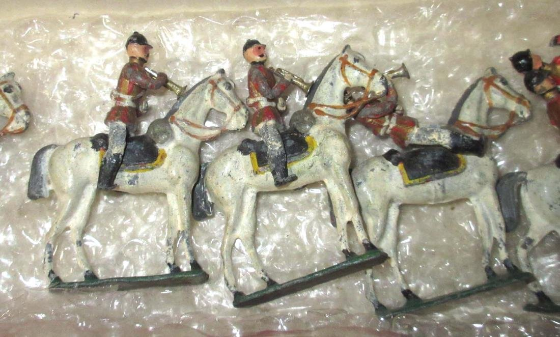 Lot of Lead Horseman - 3