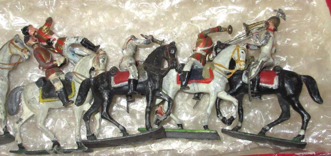 Lot of Lead Horseman - 4