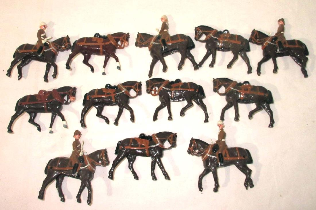 Lot of Lead Soldiers & Horses