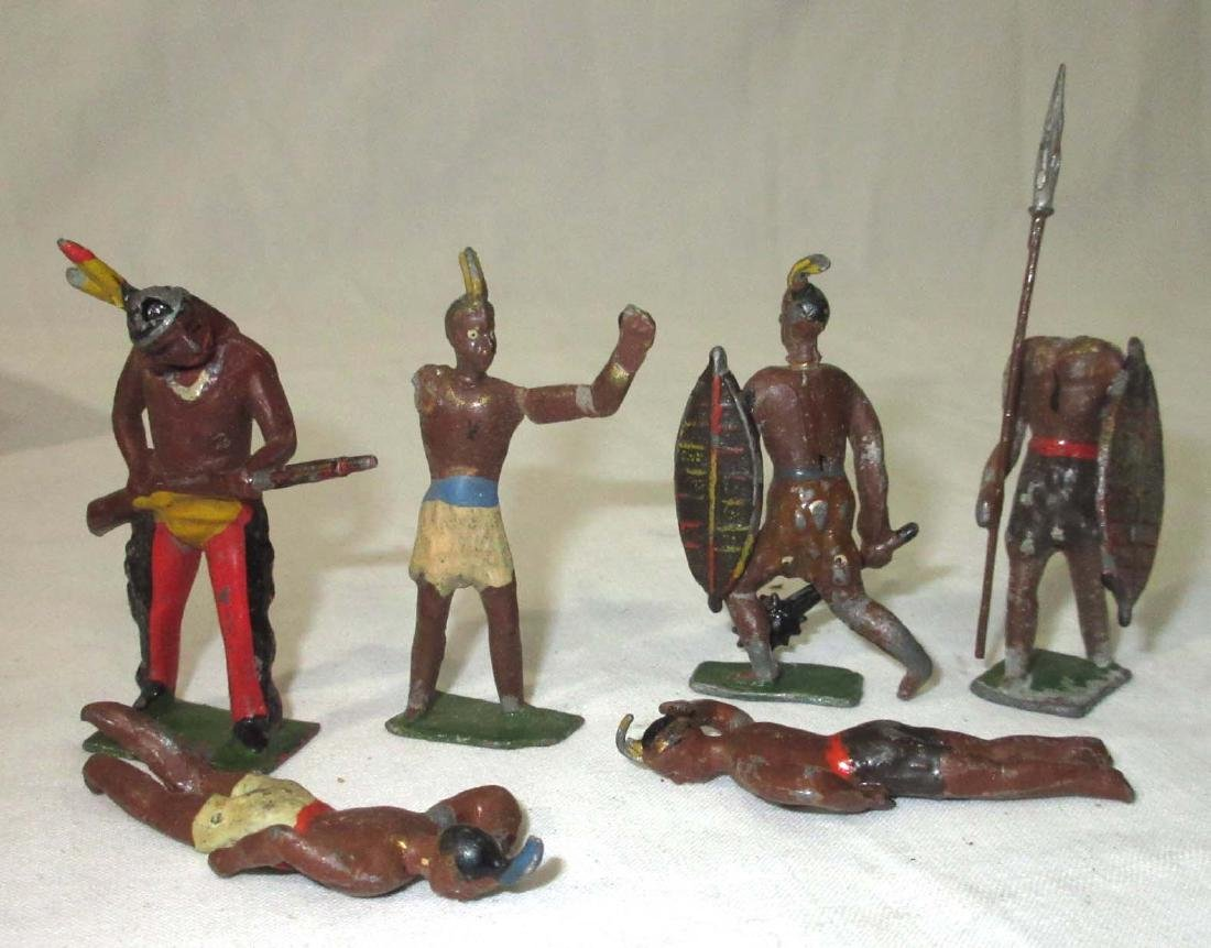 Lot of Lead Soldiers & Indians - 2
