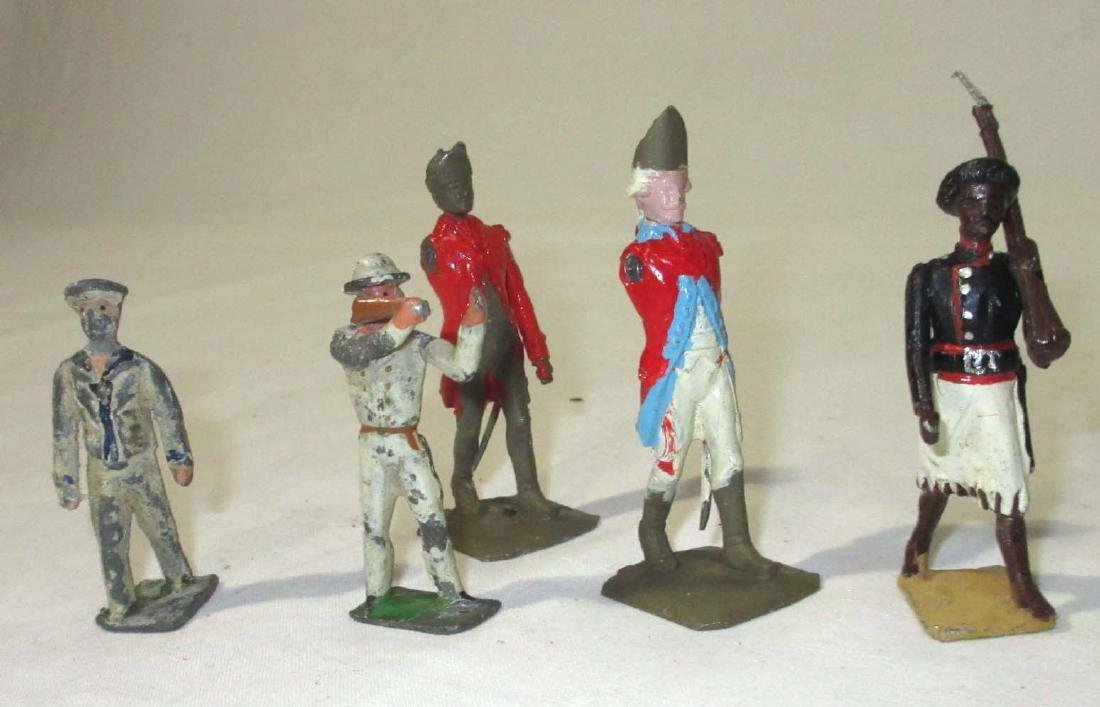 Lot of Lead Soldiers & Indians - 3