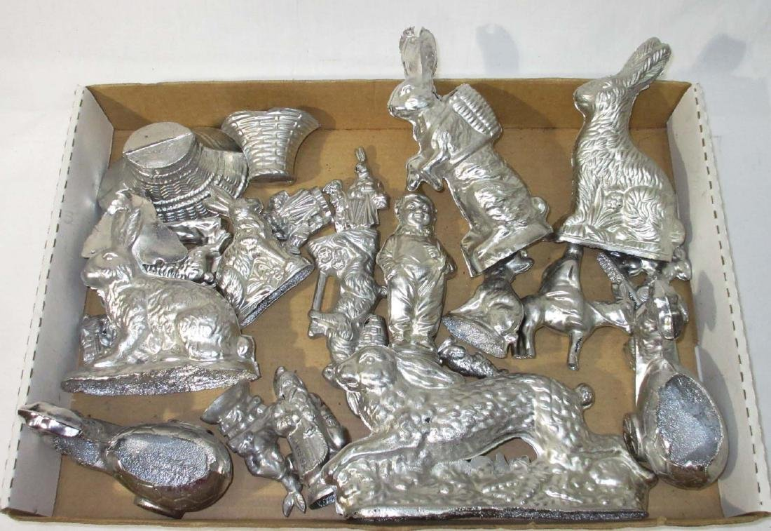 Large Lot of Metal Toys