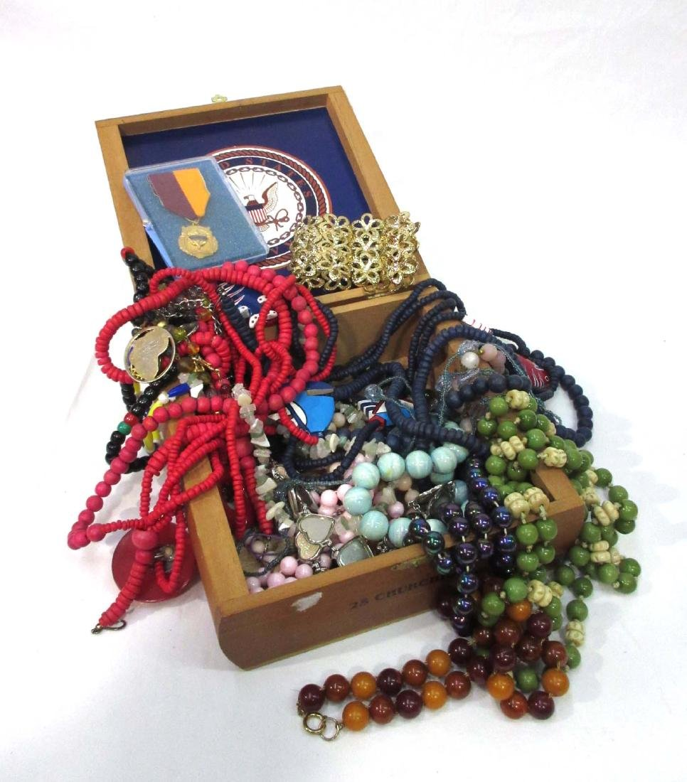 Box Lot Costume Jewelry