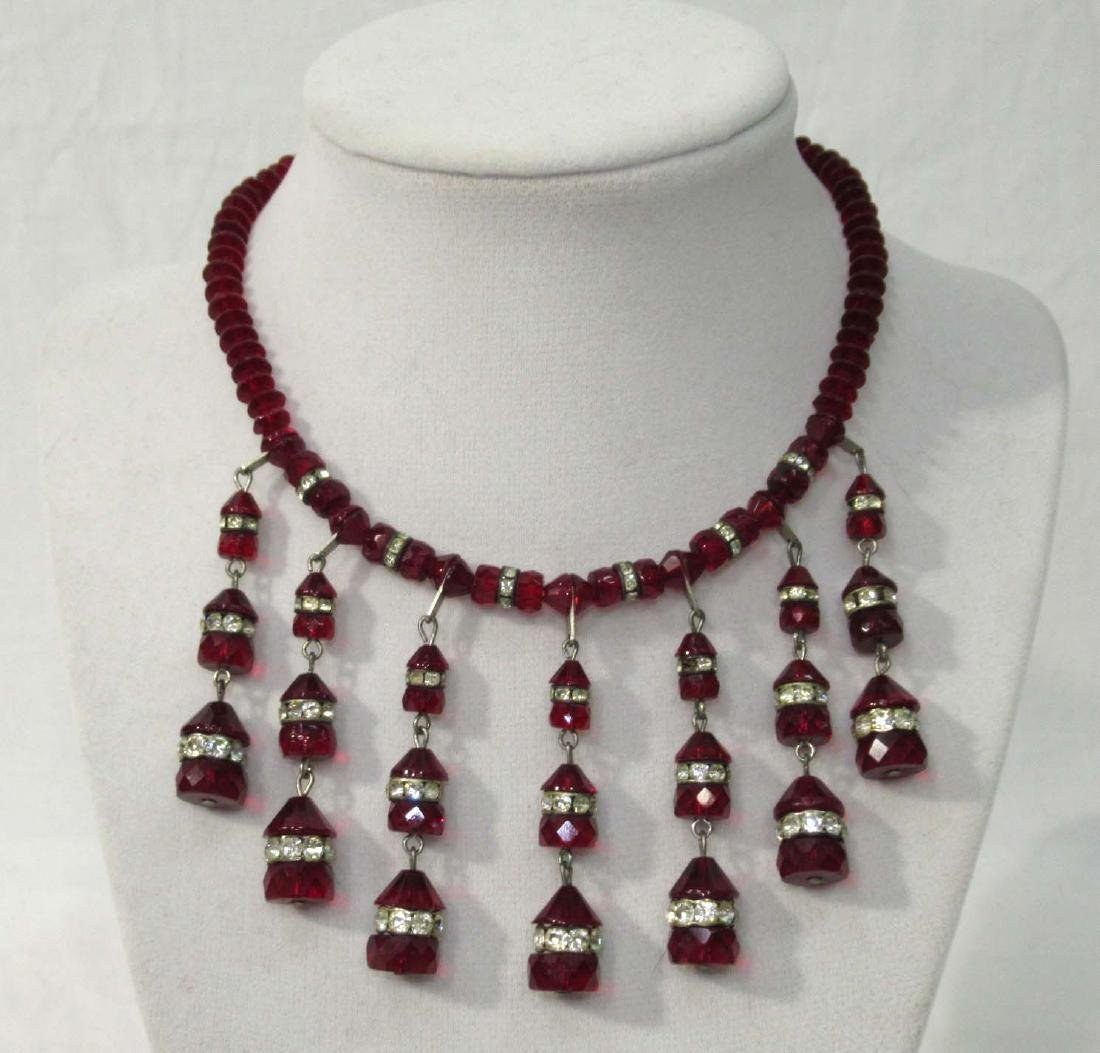 2 Necklace & Earring Sets - 3