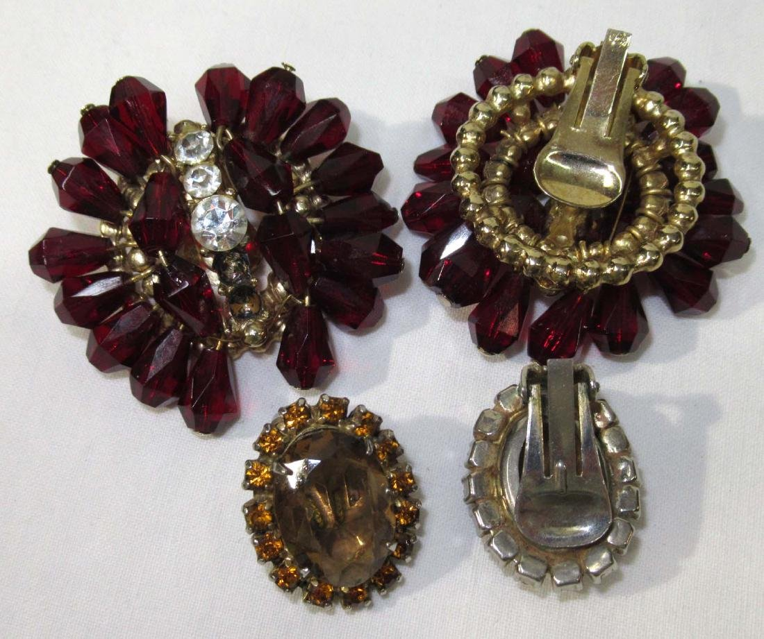 2 Necklace & Earring Sets - 4