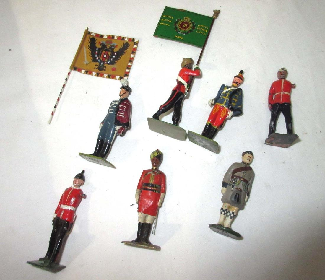 Large Lot of Lead Soldiers - 2