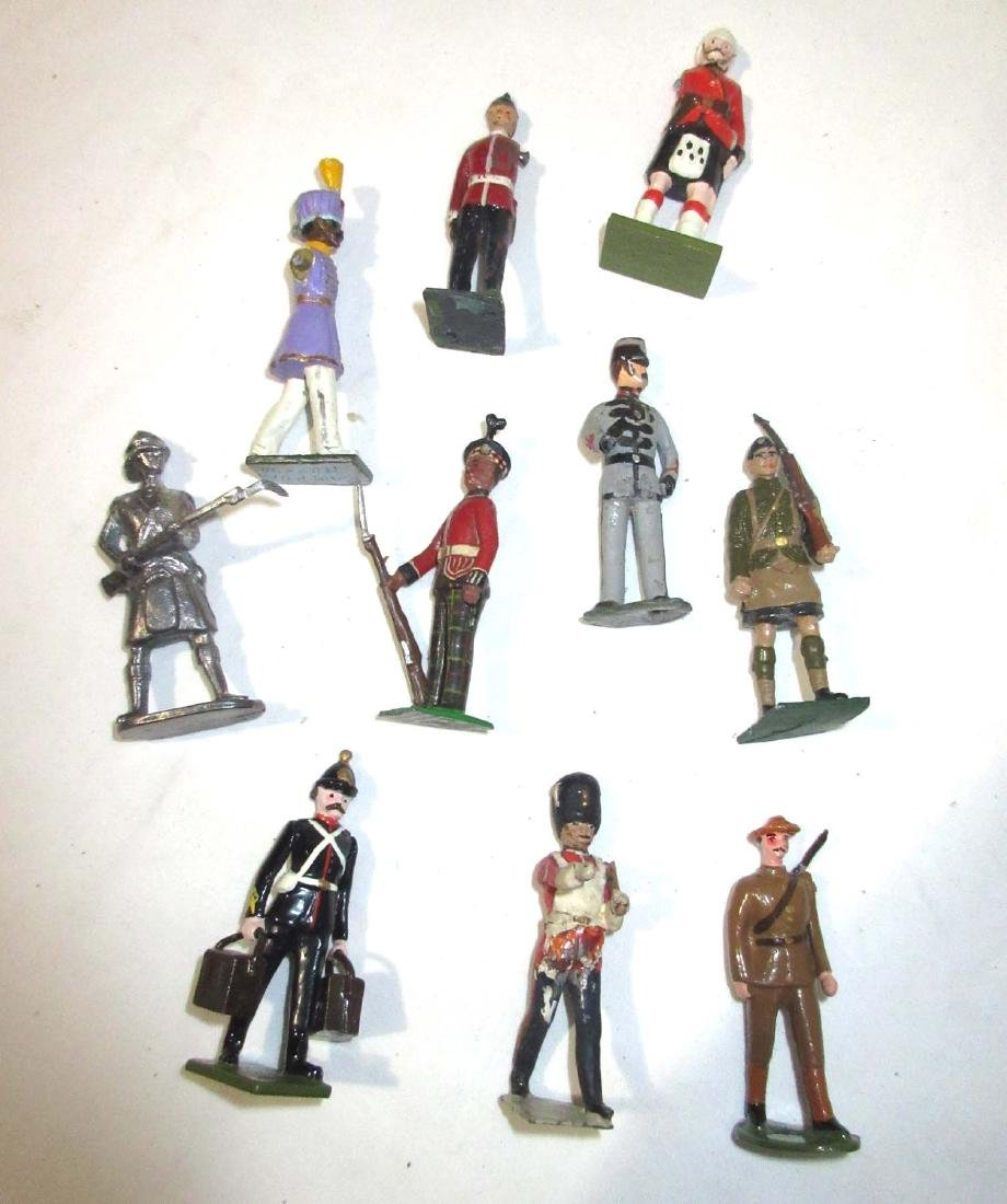 Large Lot of Lead Soldiers - 3