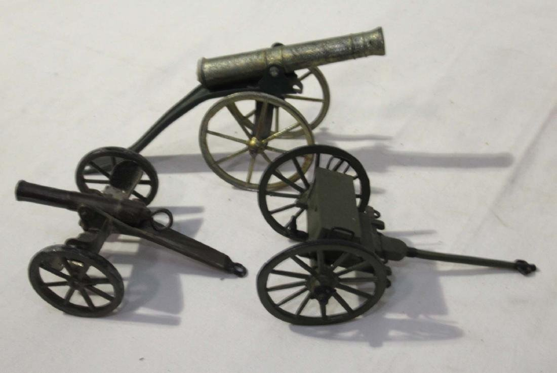 Lot of Lead Wagons, Cannons, Carts - 2