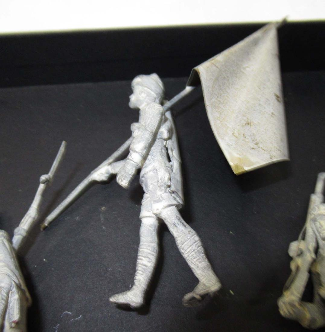 Set of Lead Soldiers - 4