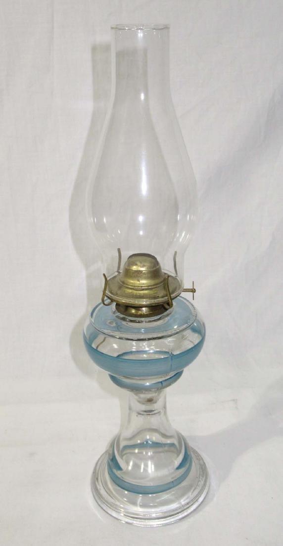 H.P. Blue Band #1 Oil Lamp - 2