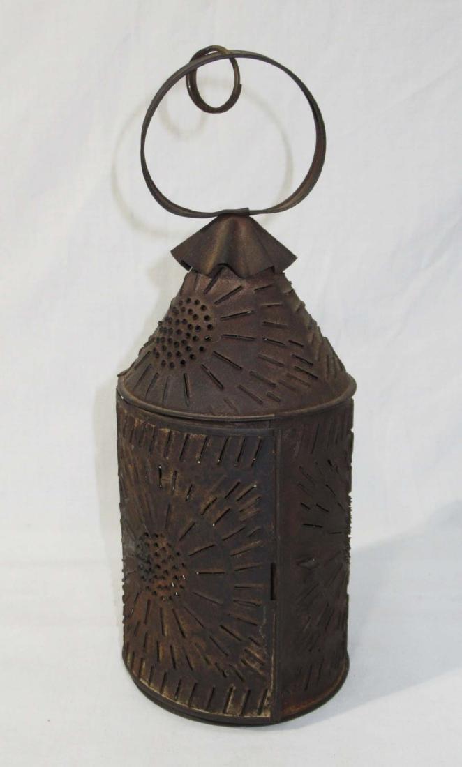 Early Tin Candle Lantern