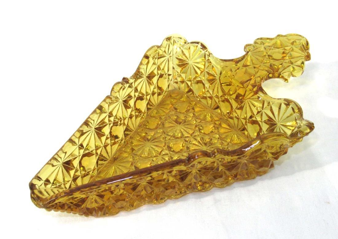 Amber EAPG Pie Dish