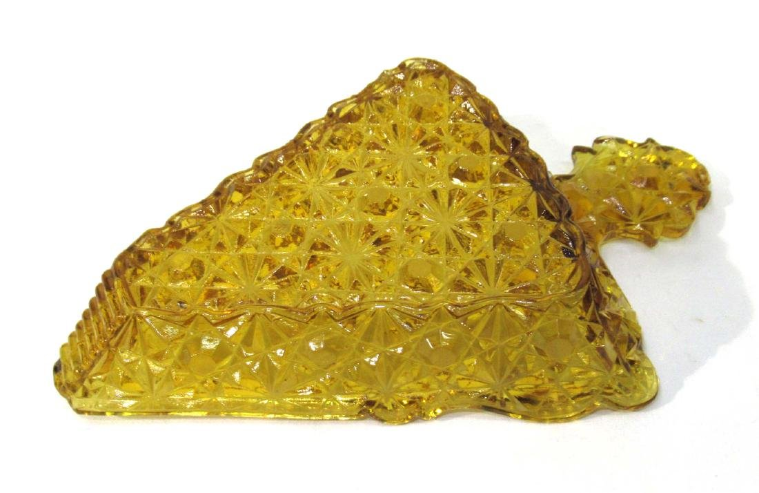 Amber EAPG Pie Dish - 2