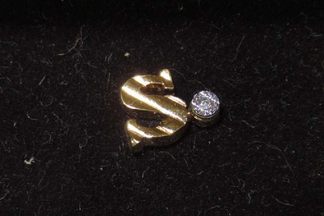 3pc Gold Filled Jewelry w/ Diamonds - 4