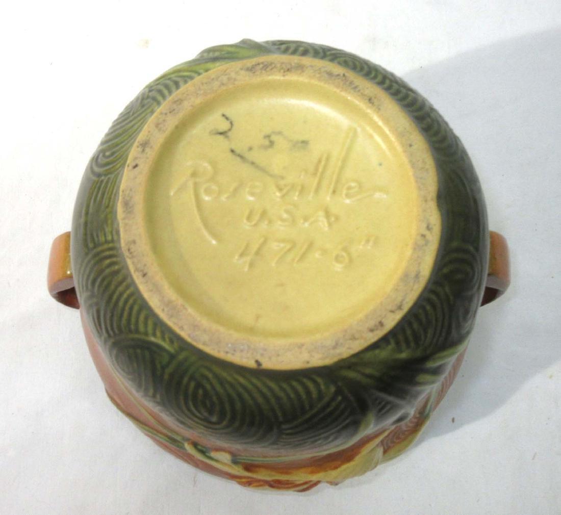 Roseville Pottery Vase 471-6 - 3