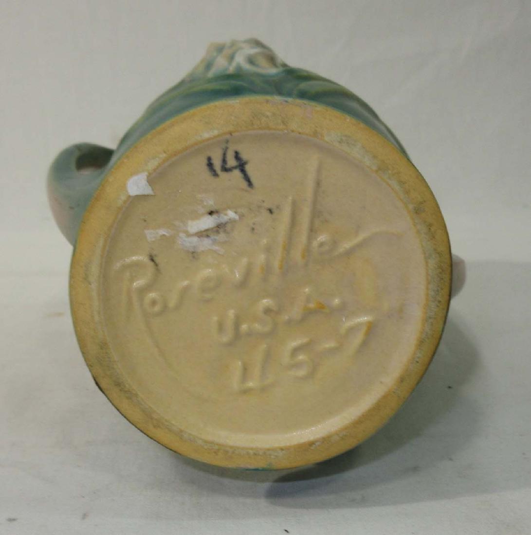 Roseville Pottery Vase 45-7 - 3