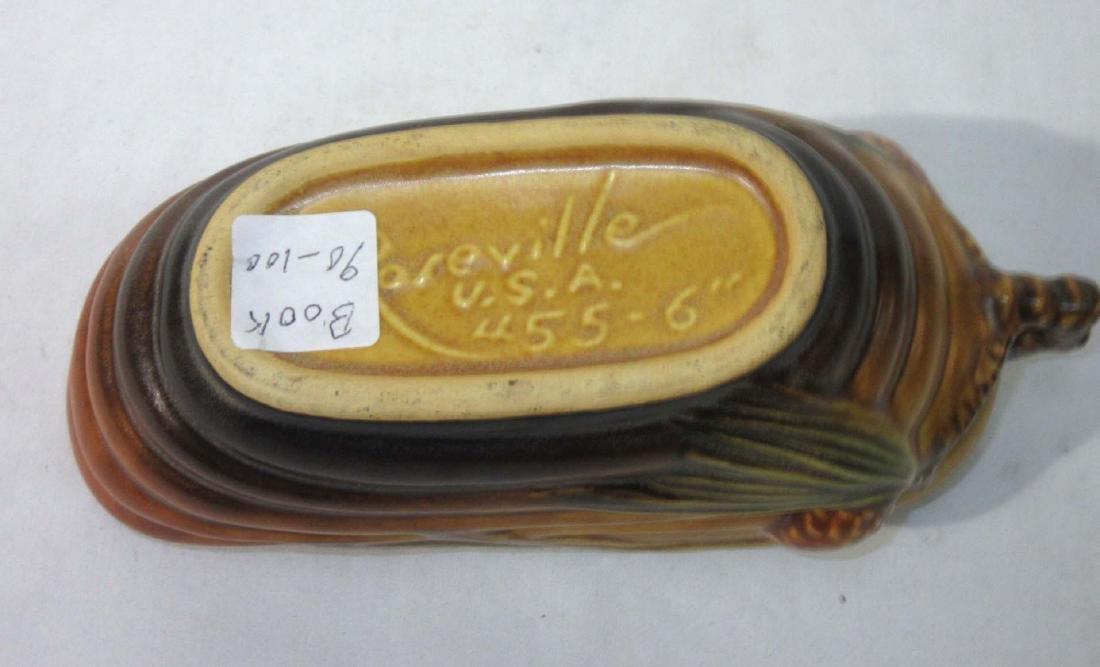 Roseville Pottery Vase 455-6 - 3