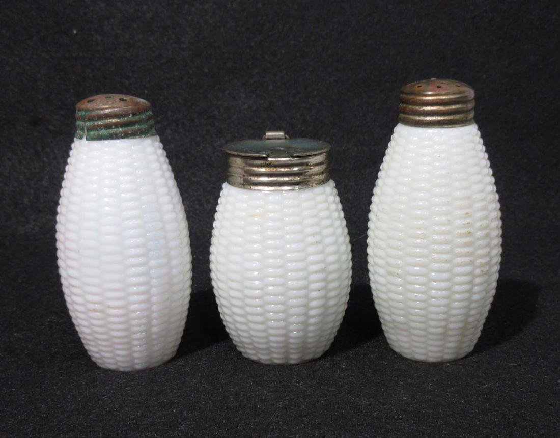 Victorian Salt, Pepper & Preserve Jar Corn Pattern
