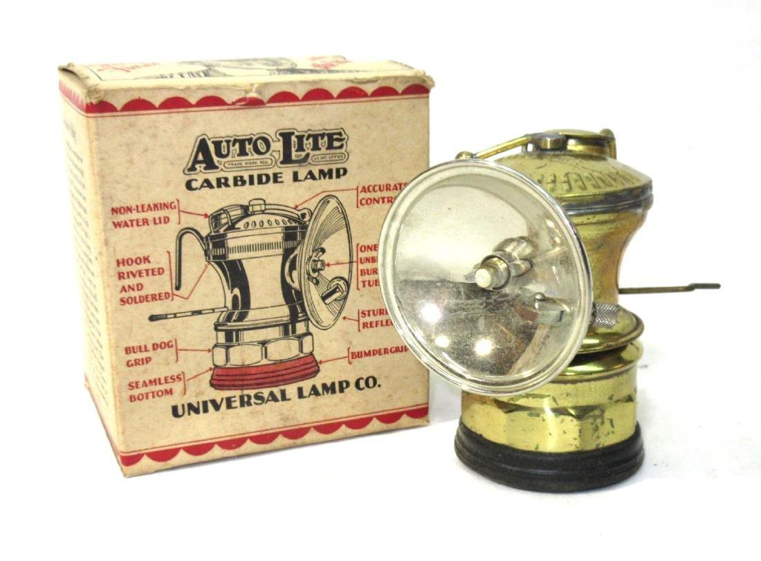 N.O.S. AutoLite Carbide Lamp
